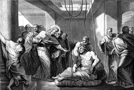 Healing Of A Paralytic